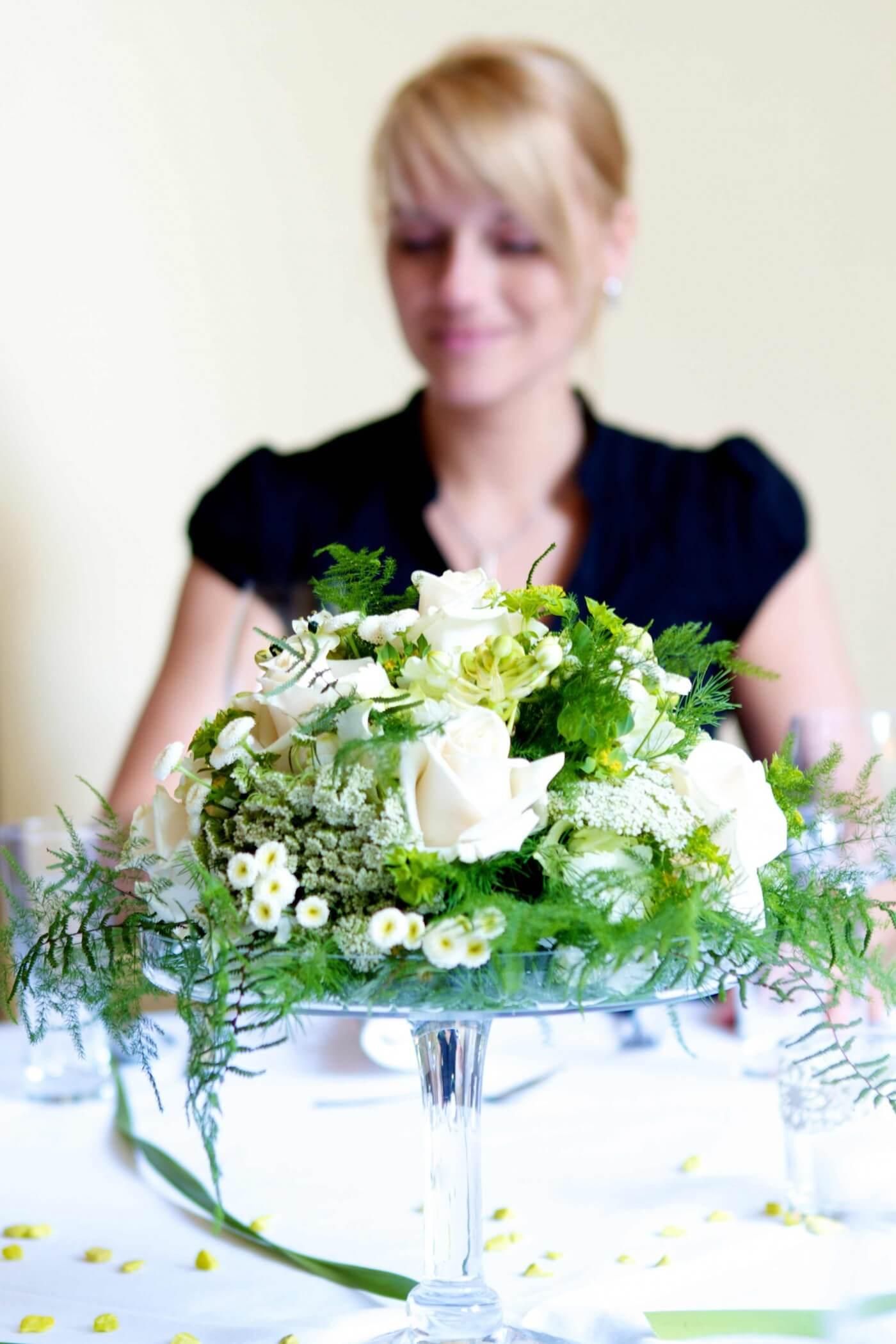 Hochzeit Tischdeko Idee