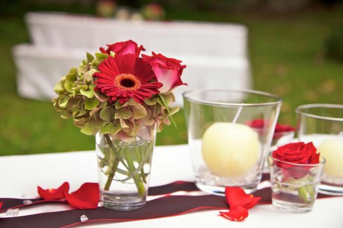 Hochzeit Tischdekoration Bildergalerie Hochzeitsportal24