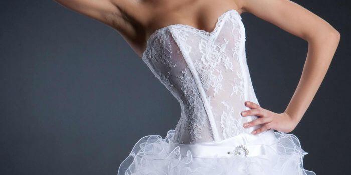 Hochzeitscorsage Dessous