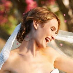 Hochzeitsfrisur Schleier