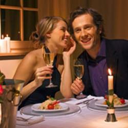 Hochzeitsgeschenk Candle Light Dinner