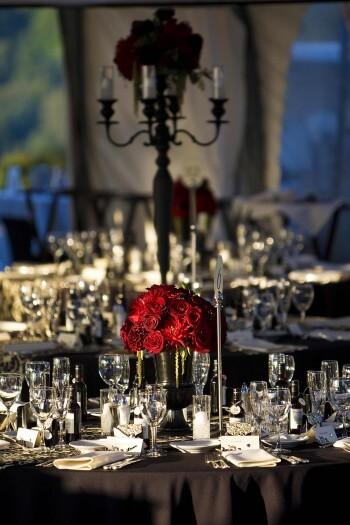 Hochzeitstischdeko Mit Roten Rosen Bildergalerie