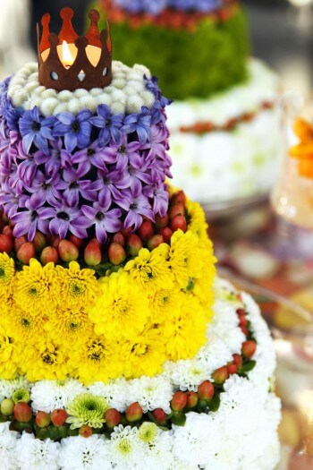 Hochzeitstorte Aus Blumen Bildergalerie Hochzeitsportal24