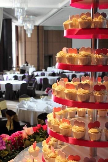 Hochzeitstorte Cupcake