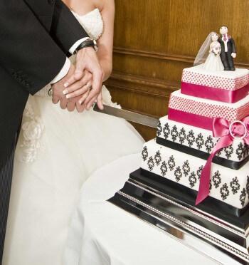 Hochzeitstorte Marzipan