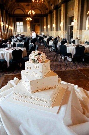 Hochzeitstorte modern