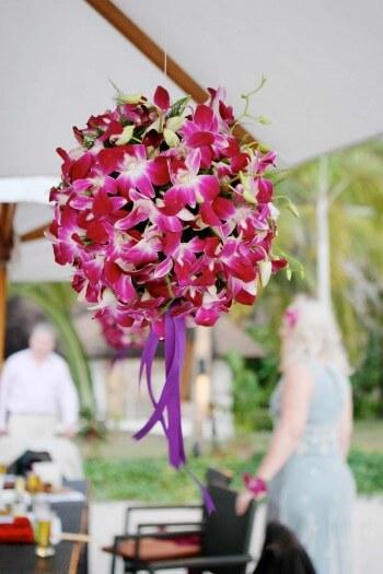Orchideen Blumendeko Hochzeit