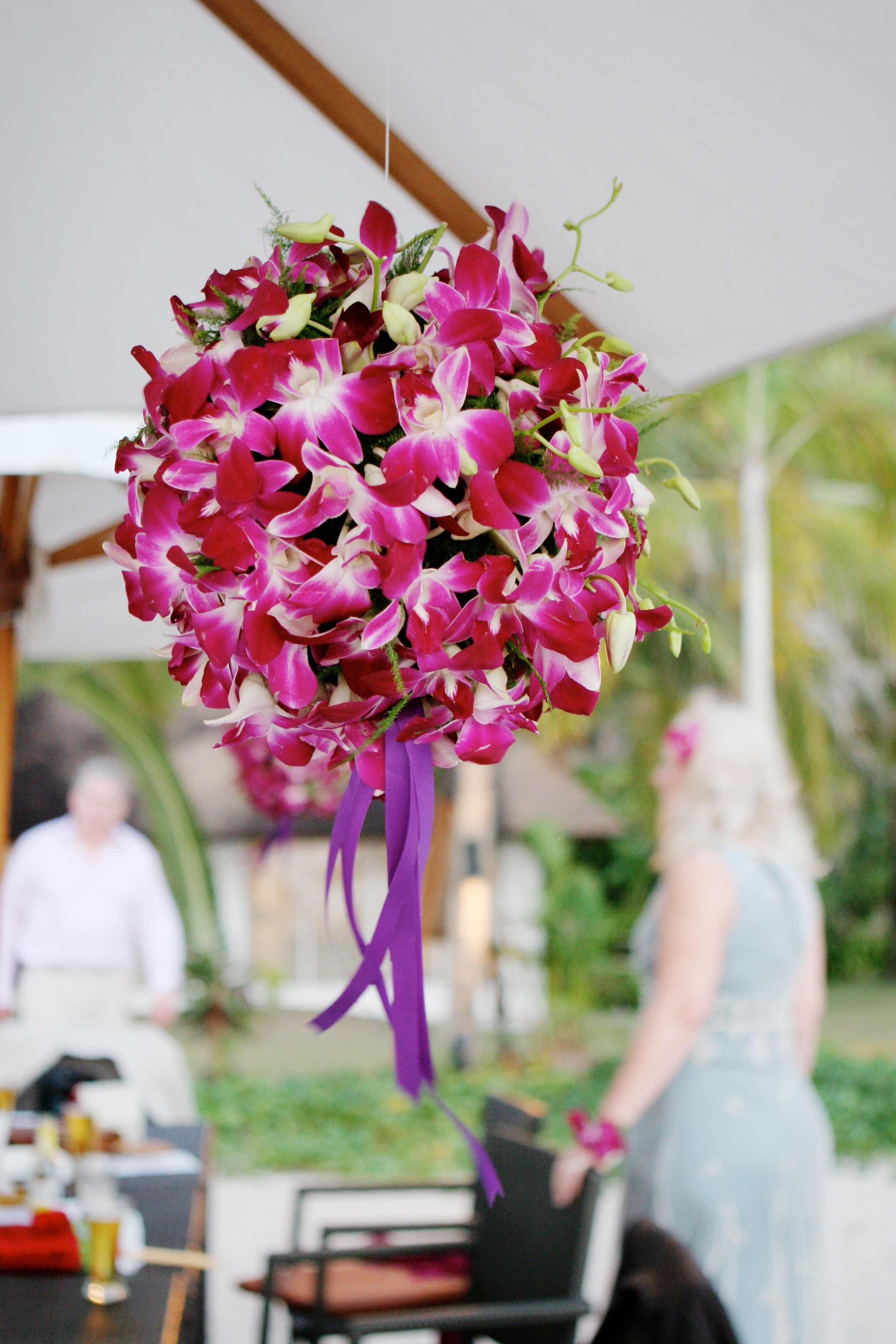 orchideen blumendeko f r hochzeit bildergalerie. Black Bedroom Furniture Sets. Home Design Ideas
