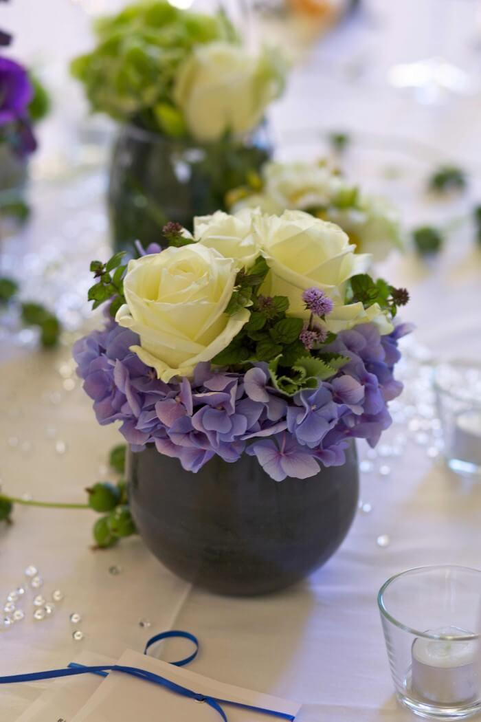 Tischdeko Hochzeit Rosen