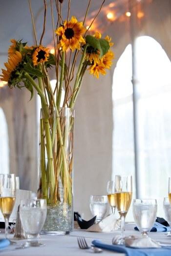 Tischdeko Sonnenblumen Bildergalerie Hochzeitsportal24