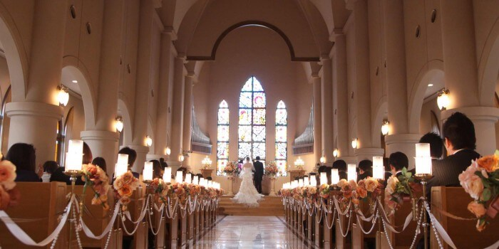 Trauung Kirche Deko