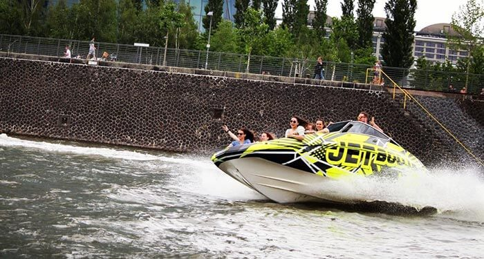 Partyboot Frankfurt JGA