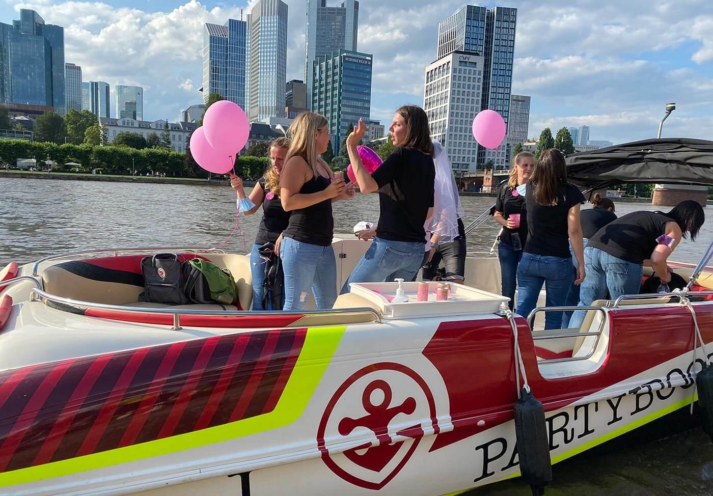 Partyboot Frankfurt