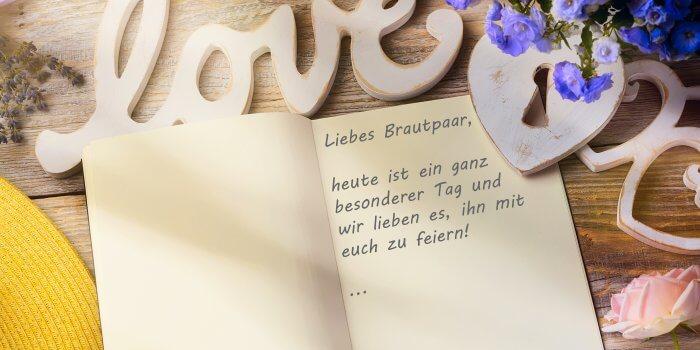 Gästebuch Hochzeit Spruch