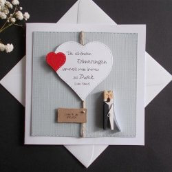 Hochzeitskarten Glückwunschkarten