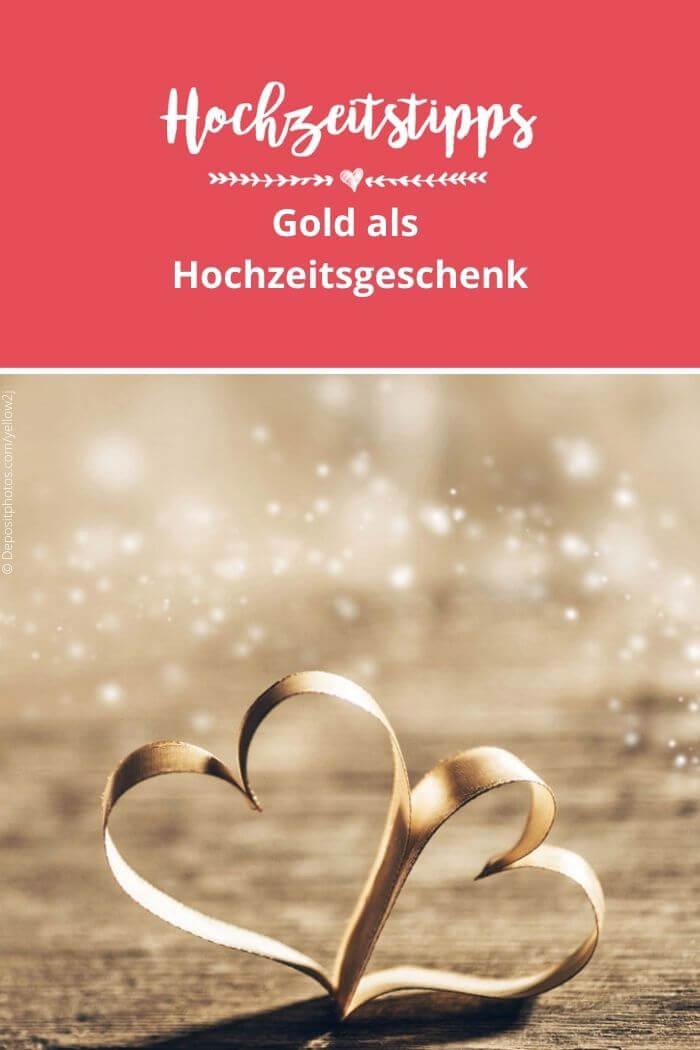 Gold als Hochzeitsgeschenk