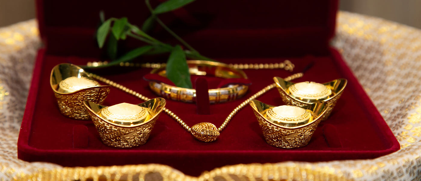 Gold zur Hochzeit schenken