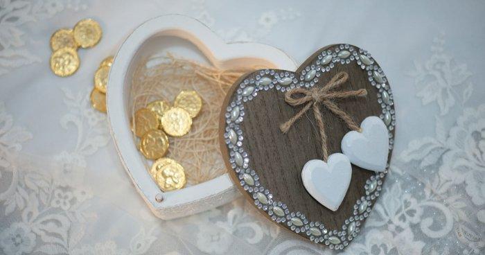 Hochzeitsgeschenk Gold