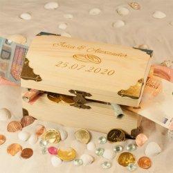 Geldgeschenk Hochzeit Holz