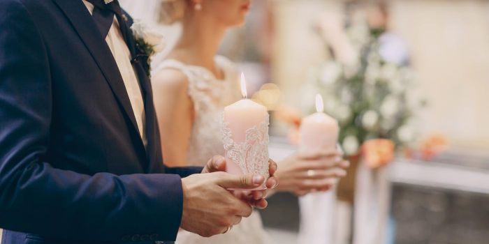 Hochzeitskerze Trauung