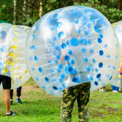 JGA Bubble Fussball