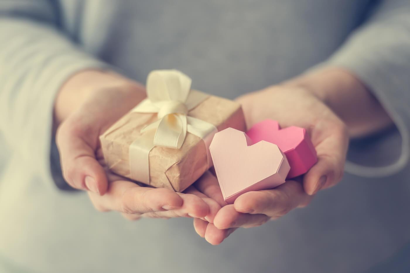 Kleines geschenk fur eine hochzeit
