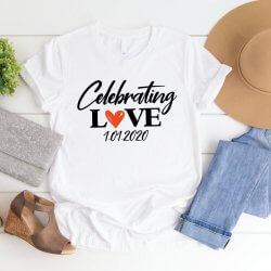 T-Shirt Hochzeit