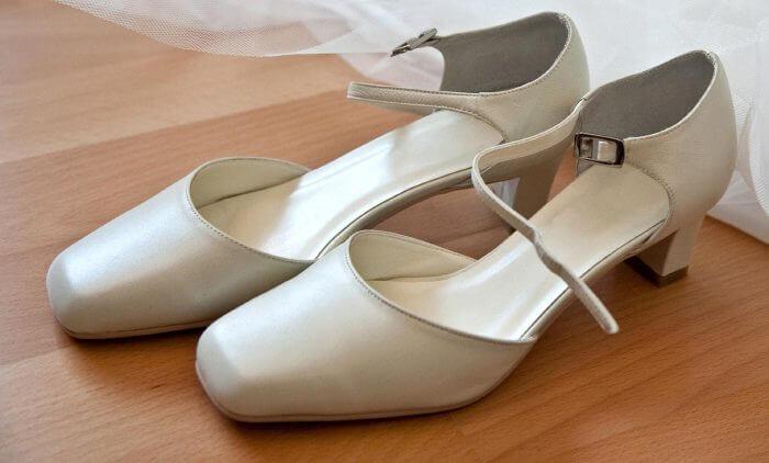 Flache Schuhe Hochzeit