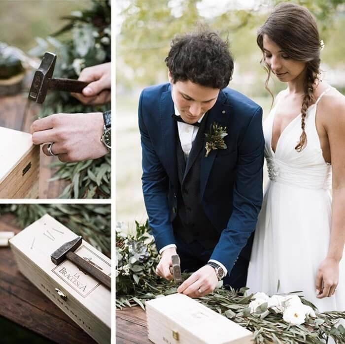 Zeitkapsel Hochzeit