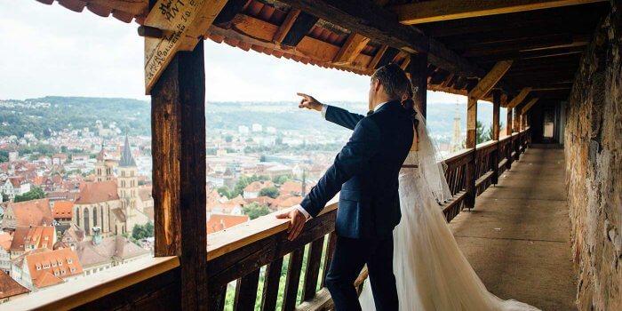 Hochzeit Stadtkirche Esslingen Stuttgart Heiraten