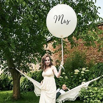 Braut Luftballon