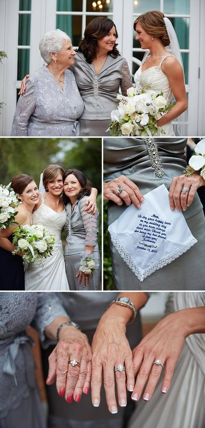 christliche Hochzeit die Familie