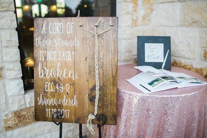 christliche Verse zur Hochzeit