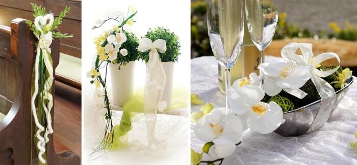 diy Seidenblumen Hochzeitsdekoration