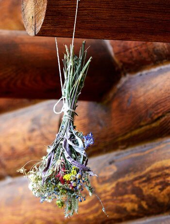 Brautstrauß trocknen lassen