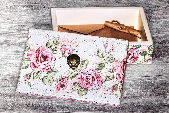 Anleitung Briefbox Hochzeit