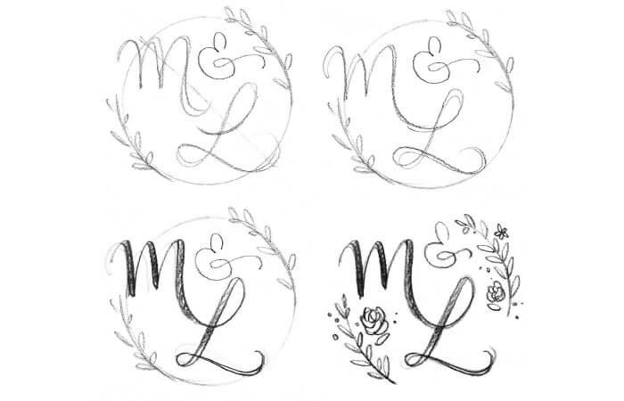 Hochzeitslogo gestalten | Ideen, Tipps & Anleitung + Shoppingtipps