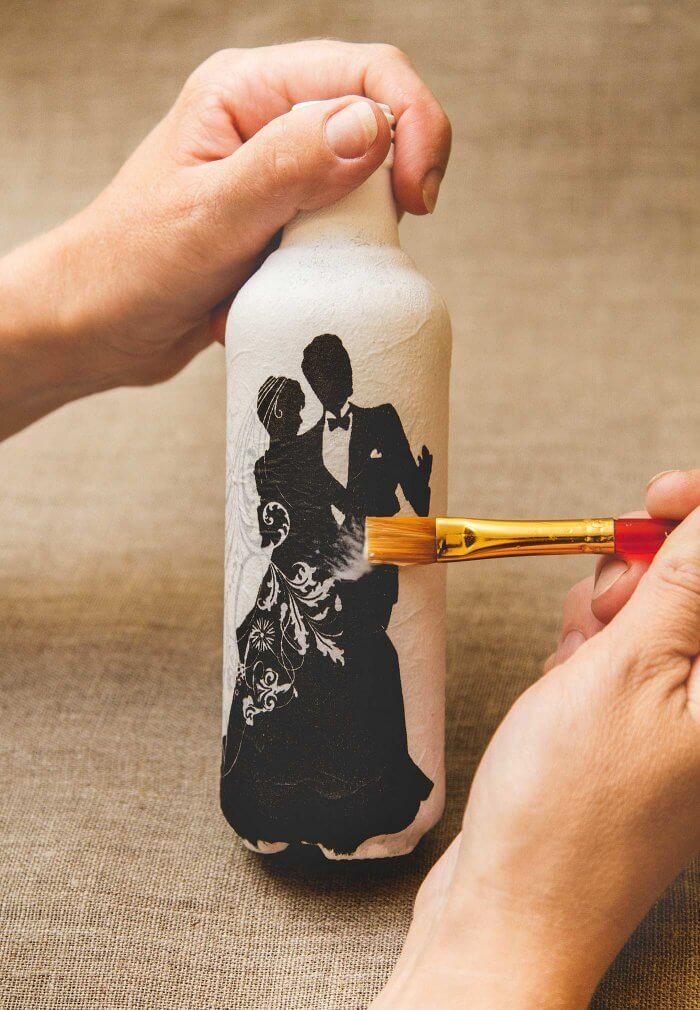 Basteln mit Glasflaschen