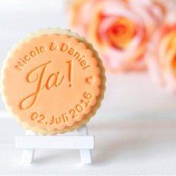 Personalisierte Kekse Hochzeit
