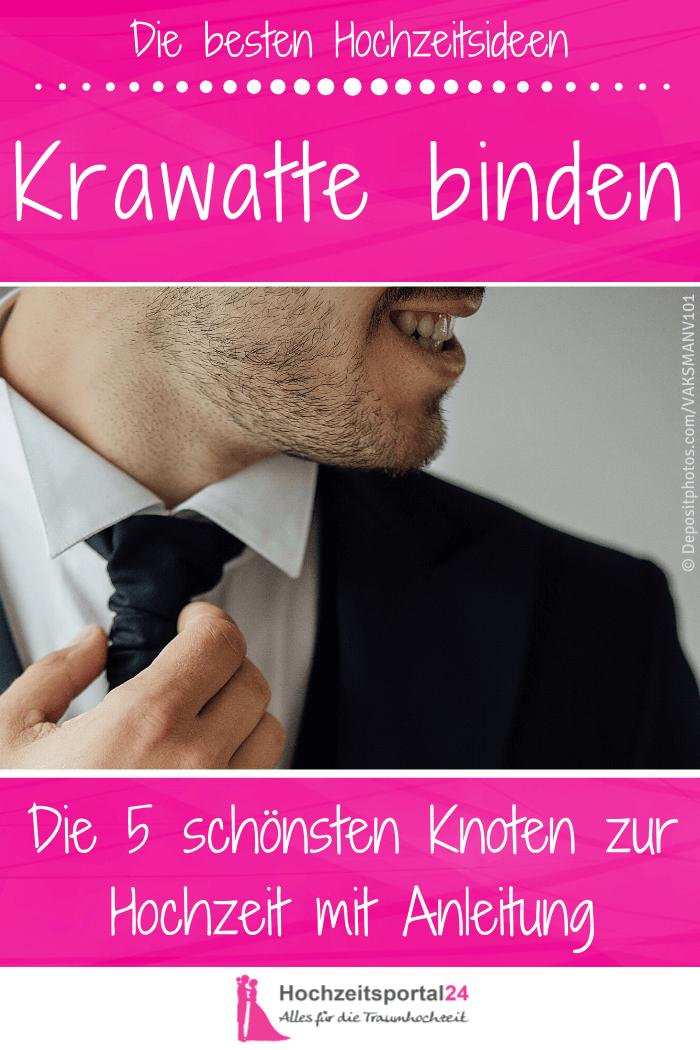Hochzeit Krawattenknoten