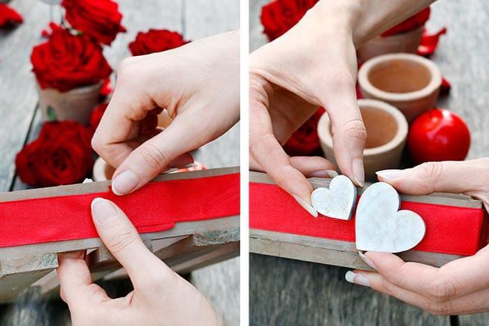 Romantische Tischdeko Mit Rosen Diy Anleitung