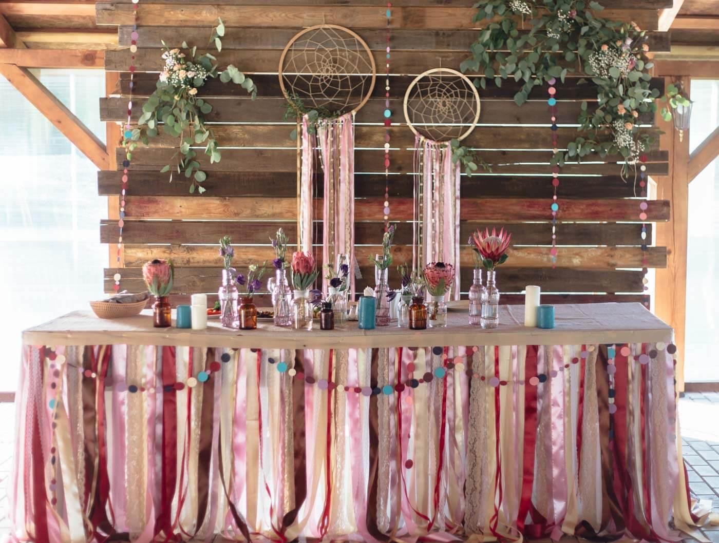 Traumfänger-Hochzeit