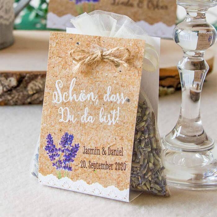 Lavendel Gastgeschenk
