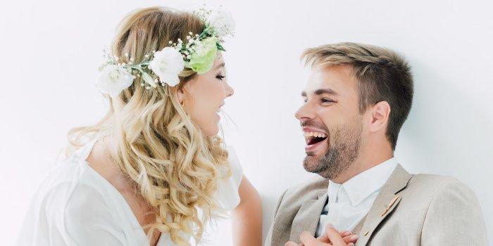 Überraschung für Bräutigam von Braut