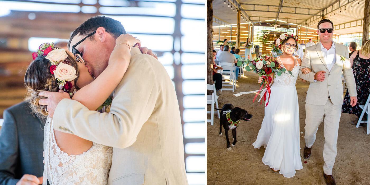 Überraschung für den Bräutigam von der Braut