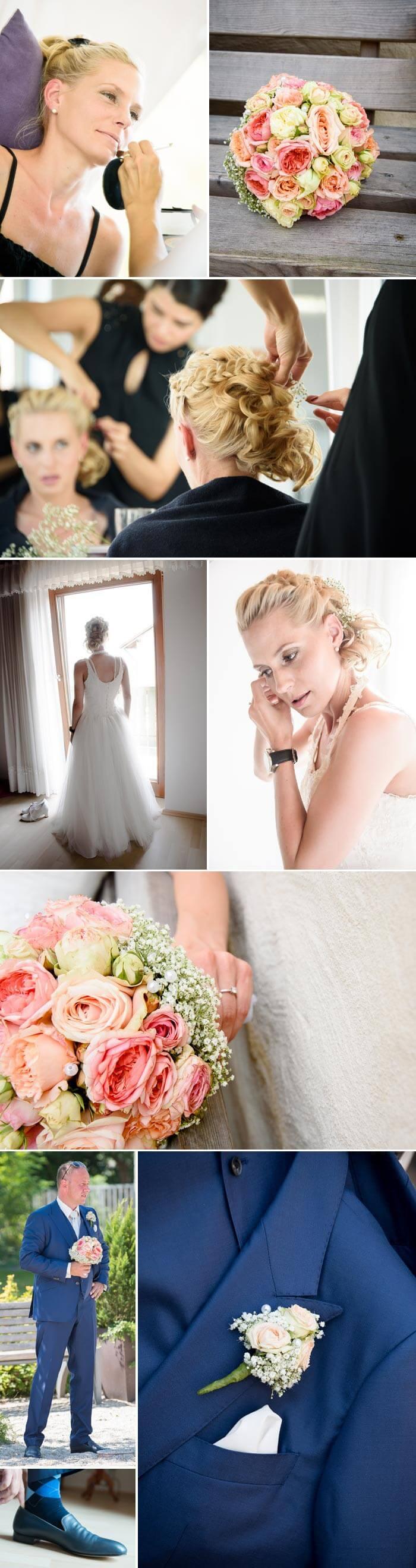 Bayerische Hochzeit Styling