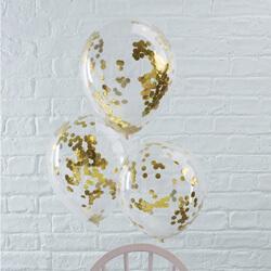 Konfetti Ballon Glitzer Hochzeit