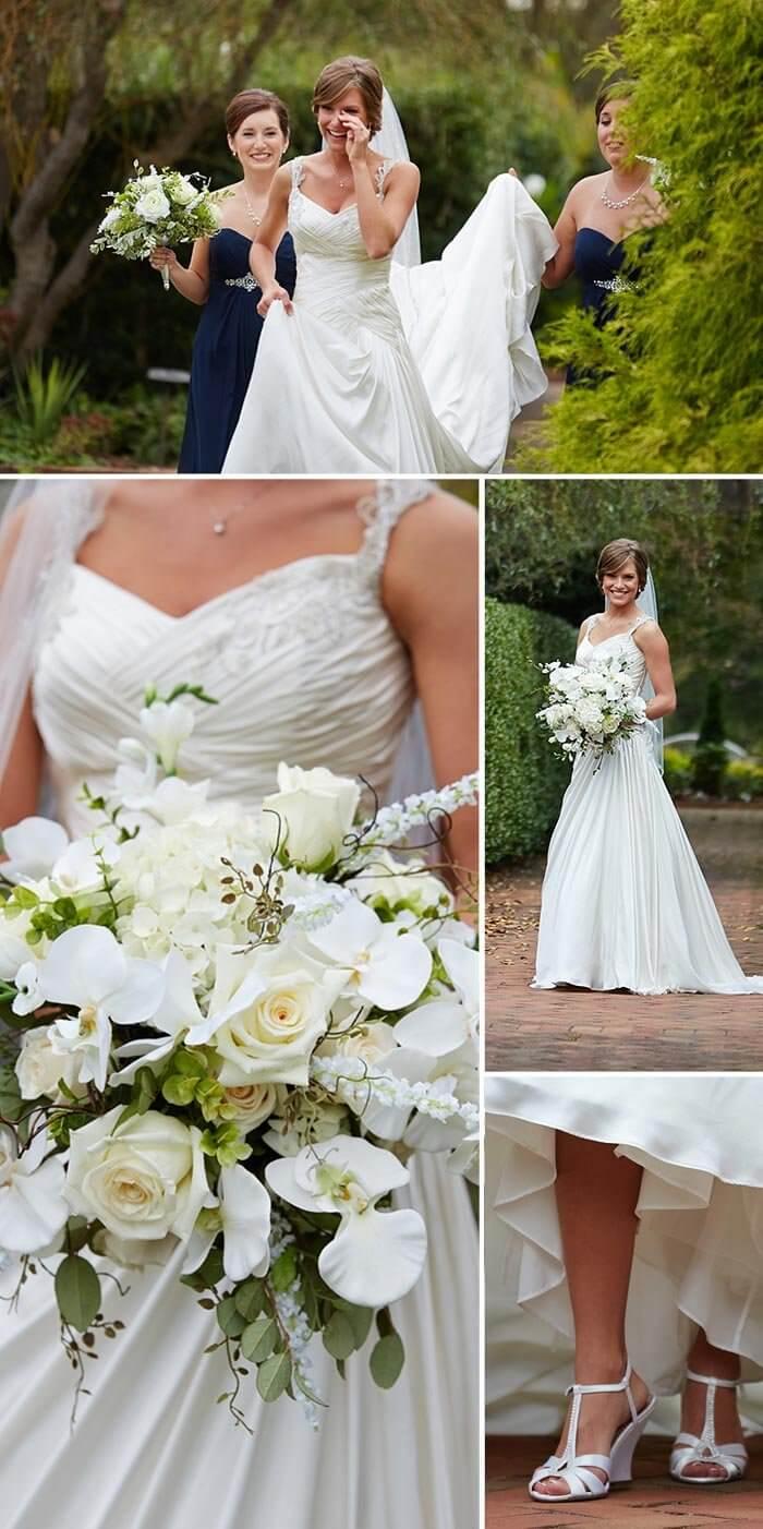 christliche Hochzeit die Braut