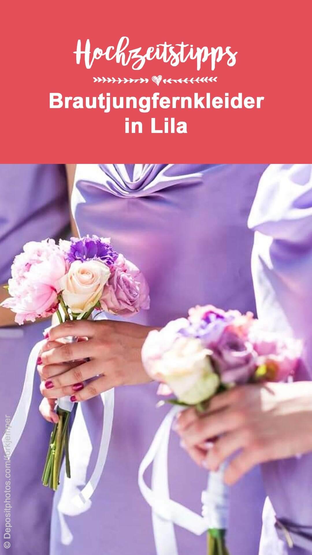Brautjungfernkleider Lila