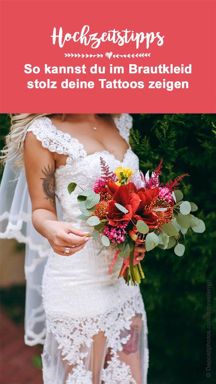 Brautkleid Tattoos
